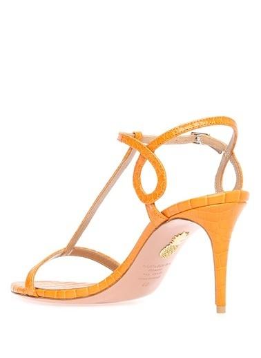Aquazzura Sandalet Oranj